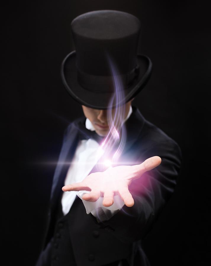 See a magic show on Albuquerque property.