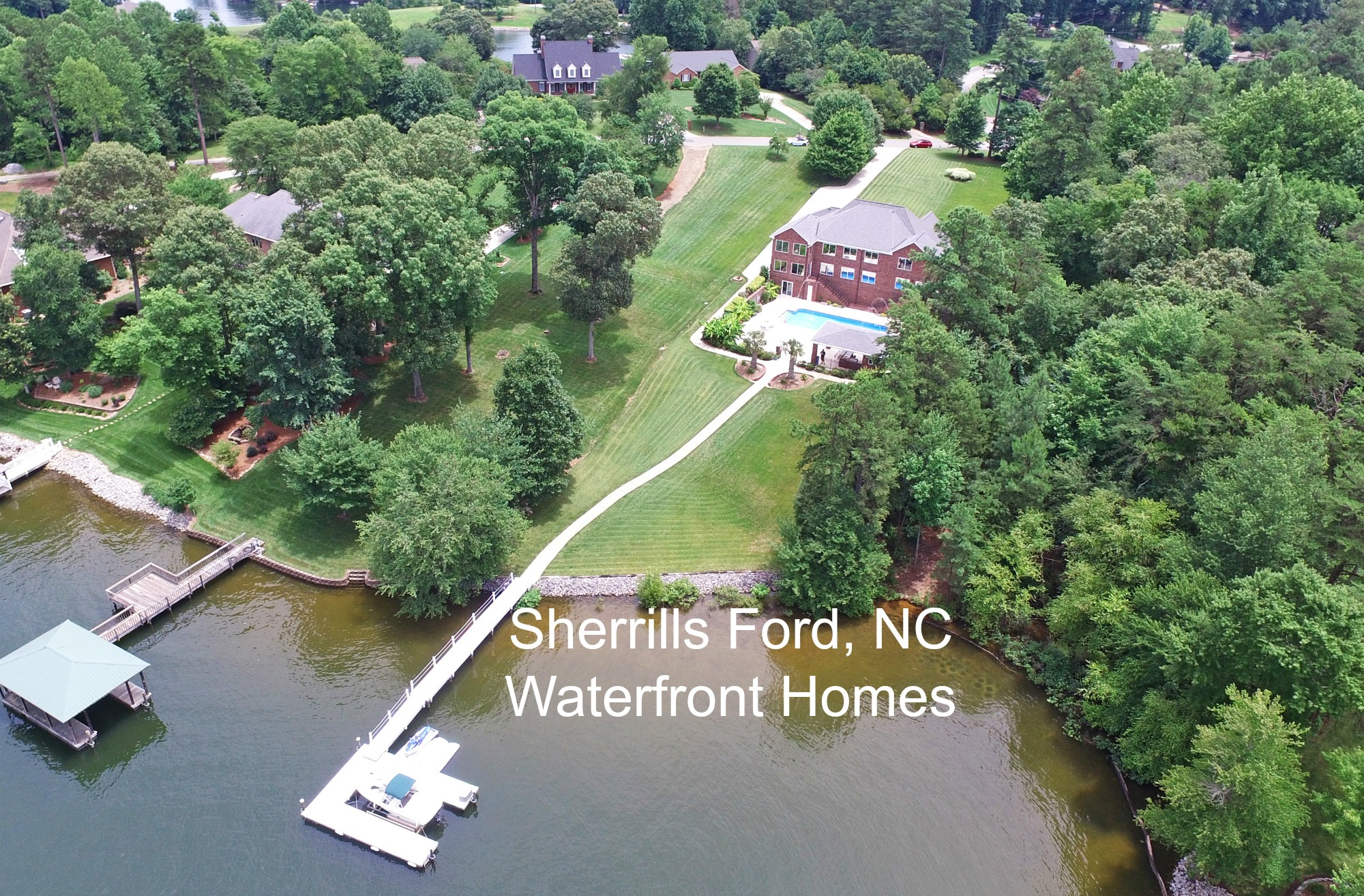 Sherrills Ford, NC Waterfront Homes