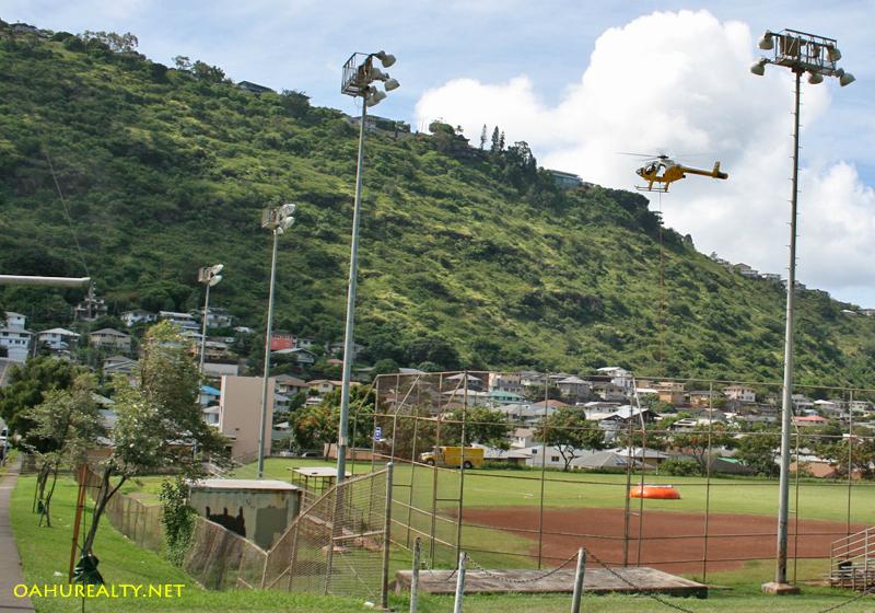 Palolo Valley, Maunalani Heights side