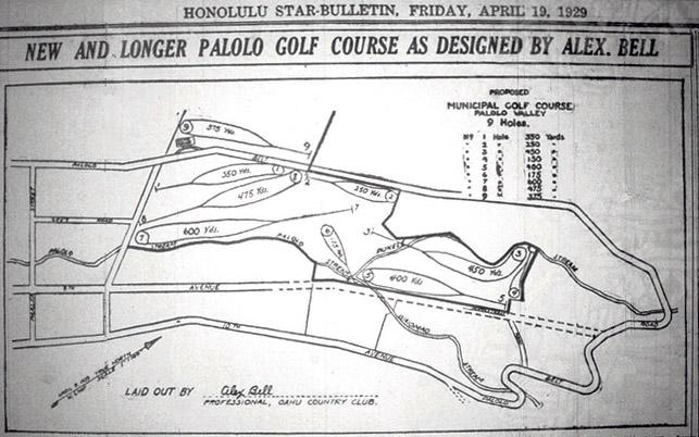 palolo golf course