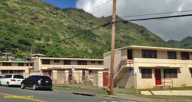 palolo housing on kiwila street near palolo valley park