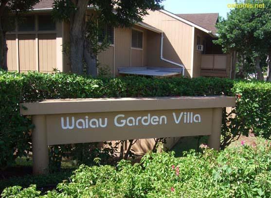 waiau garden villa pearl city hawaii