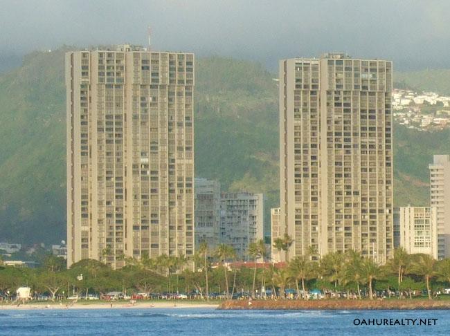 yacht harbor towers condo honolulu, hawaii