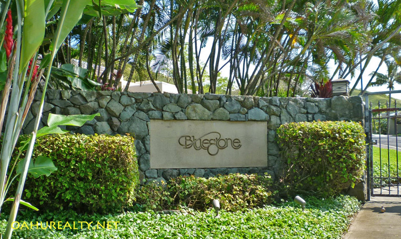 bluestone entry gate kailua