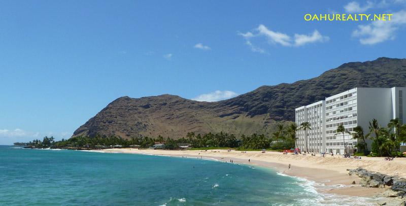 Makaha Beach Cabanas Hawaii Beachfront Condo Fee Simple