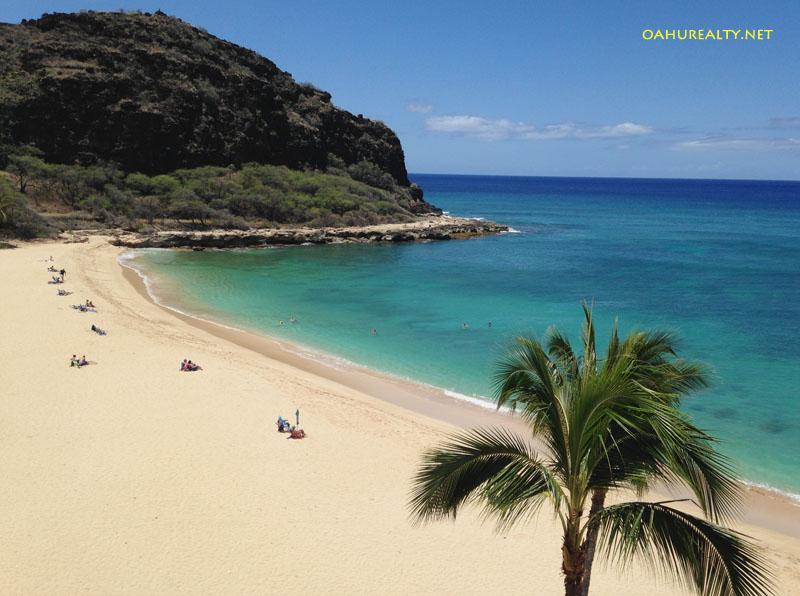 Ocean view from Makaha Beach Cabanas