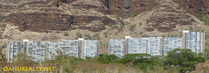 makaha valley towers on kili drive in waianae