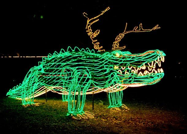 ZooLights Baton Rouge Zoo