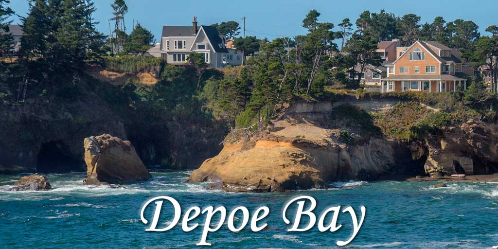 Oceanfront Homes for Sale in Depoe Bay, OR