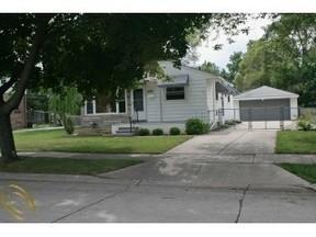 Residential Sold: 26145 Delton St