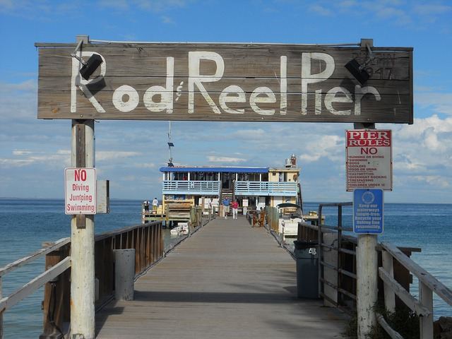 Rod Reel Pier Anna Maria Island