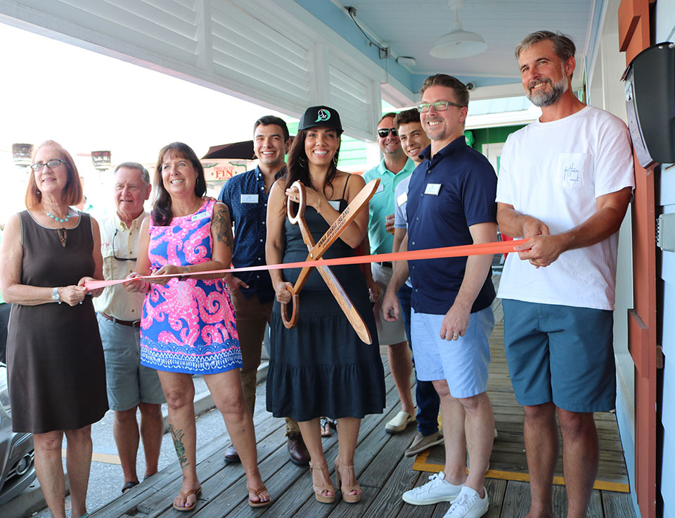 Anna Maria Island ribbon cutting ceremony
