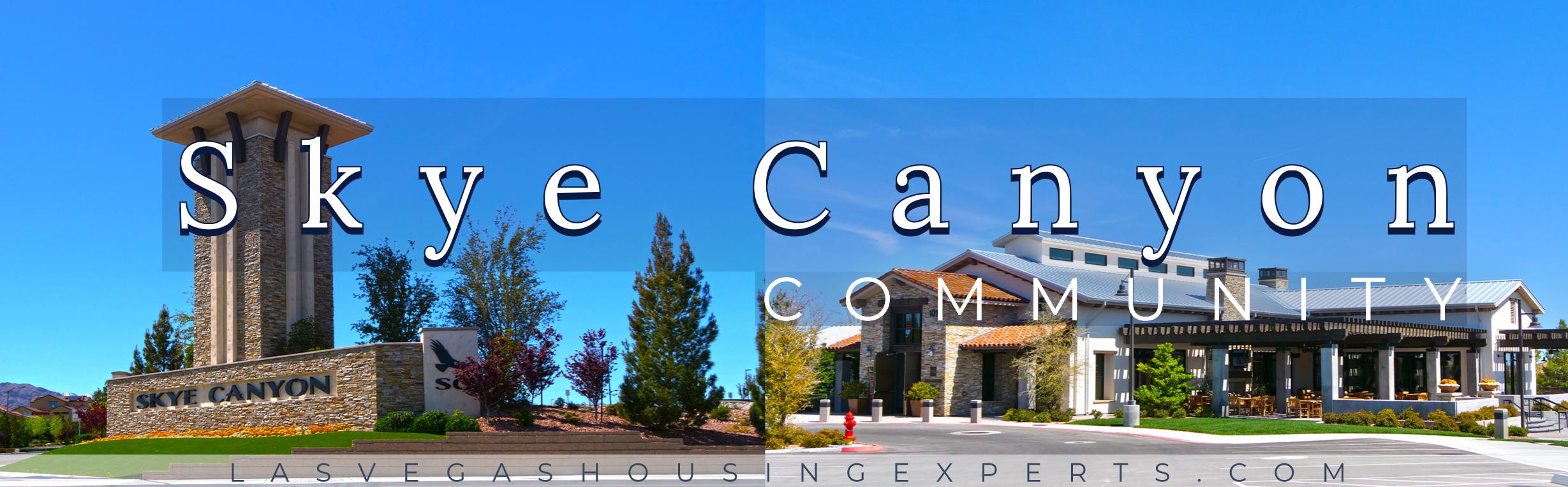Skye Canyon Las Vegas Housing Experts real estate