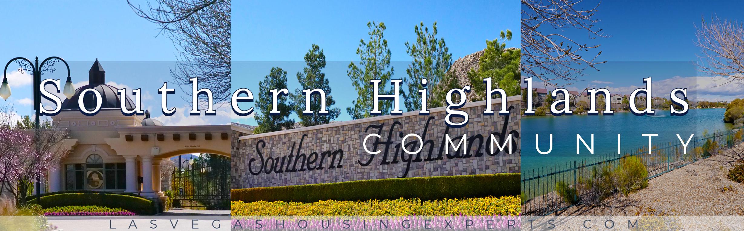 Southern Highlands Las Vegas Housing Experts real estate