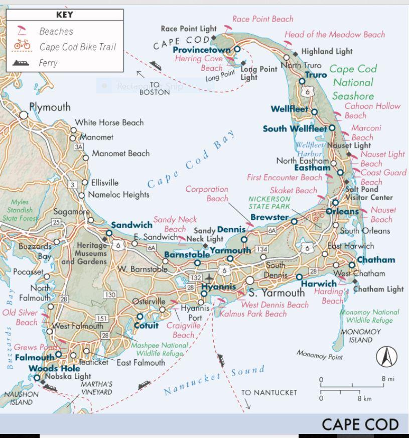 Cape Cod Maps | Liz Green Realtor ERA Cape Real Estate Cape ...