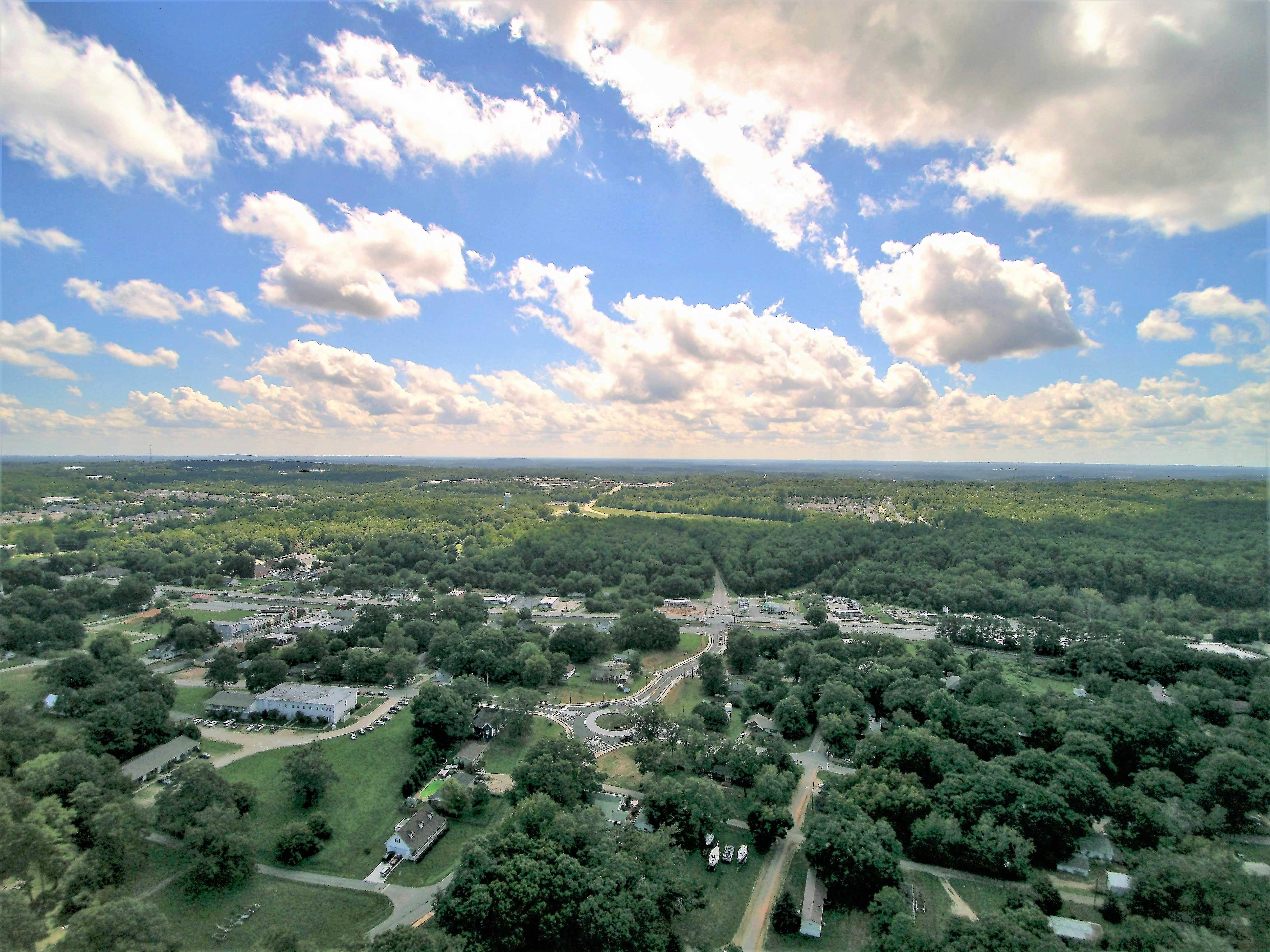 Flowery Branch Aerial View