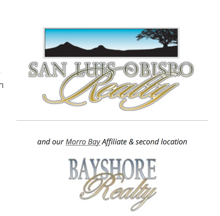 San Luis Obispo Realty - Top Broker of Real Estate