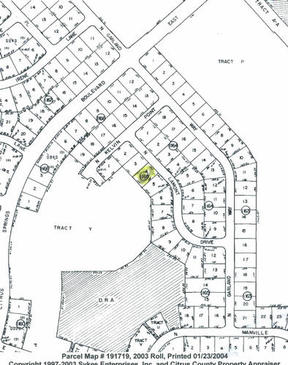 Lots And Land Sold: 8304 N. Lamont Drive