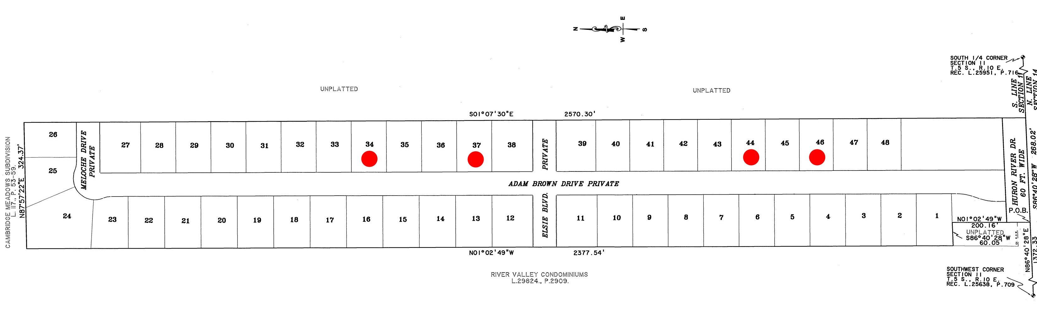 huron pointe brownstown site map