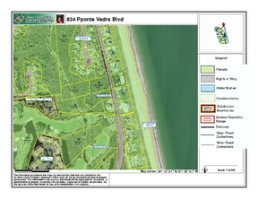 Lots And Land Active: 824 Ponte Vedra Blvd
