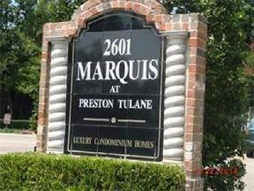 Residential Recently Sold: 2601 Preston Road #6104