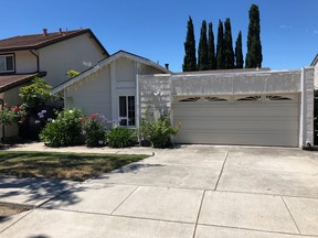 Fremont CA Single Family Home For Lease: $3,450