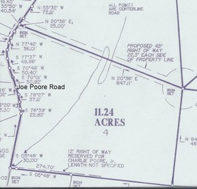 Lots And Land Sold: TBD Joe Poore Road