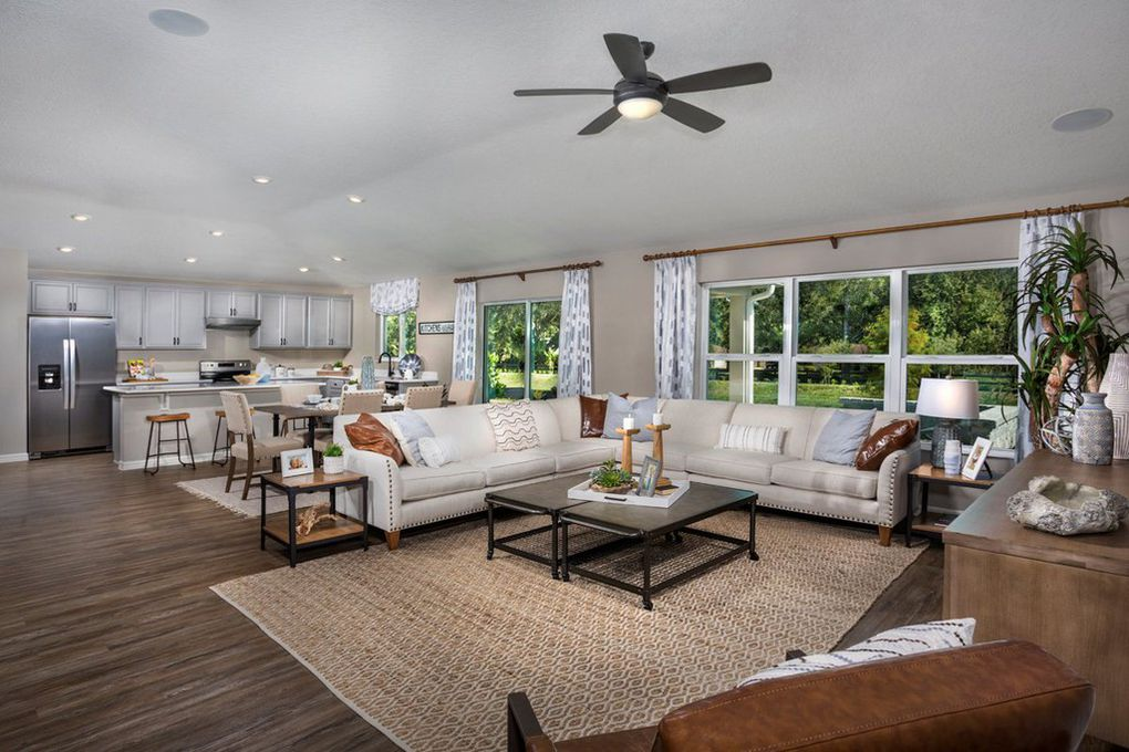 Interior Family Room Concept Lake Minneola Landings