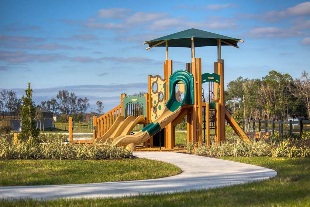Children's Playground Equipment at Lake Minneola Landings
