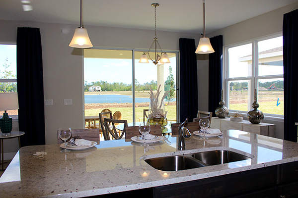 Kitchen Interior, Doral Floorplan
