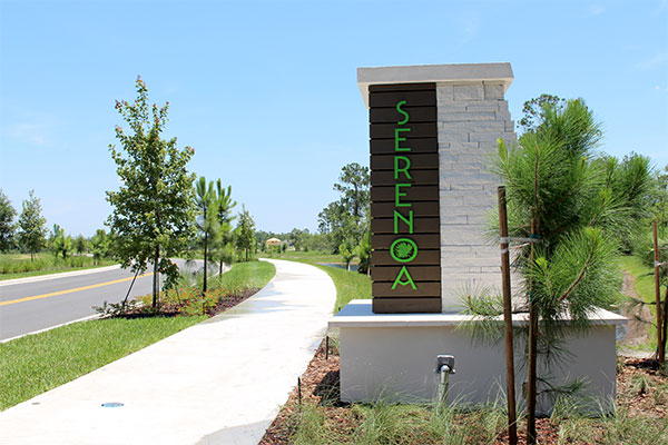Serenoa Entrance Monument Sign