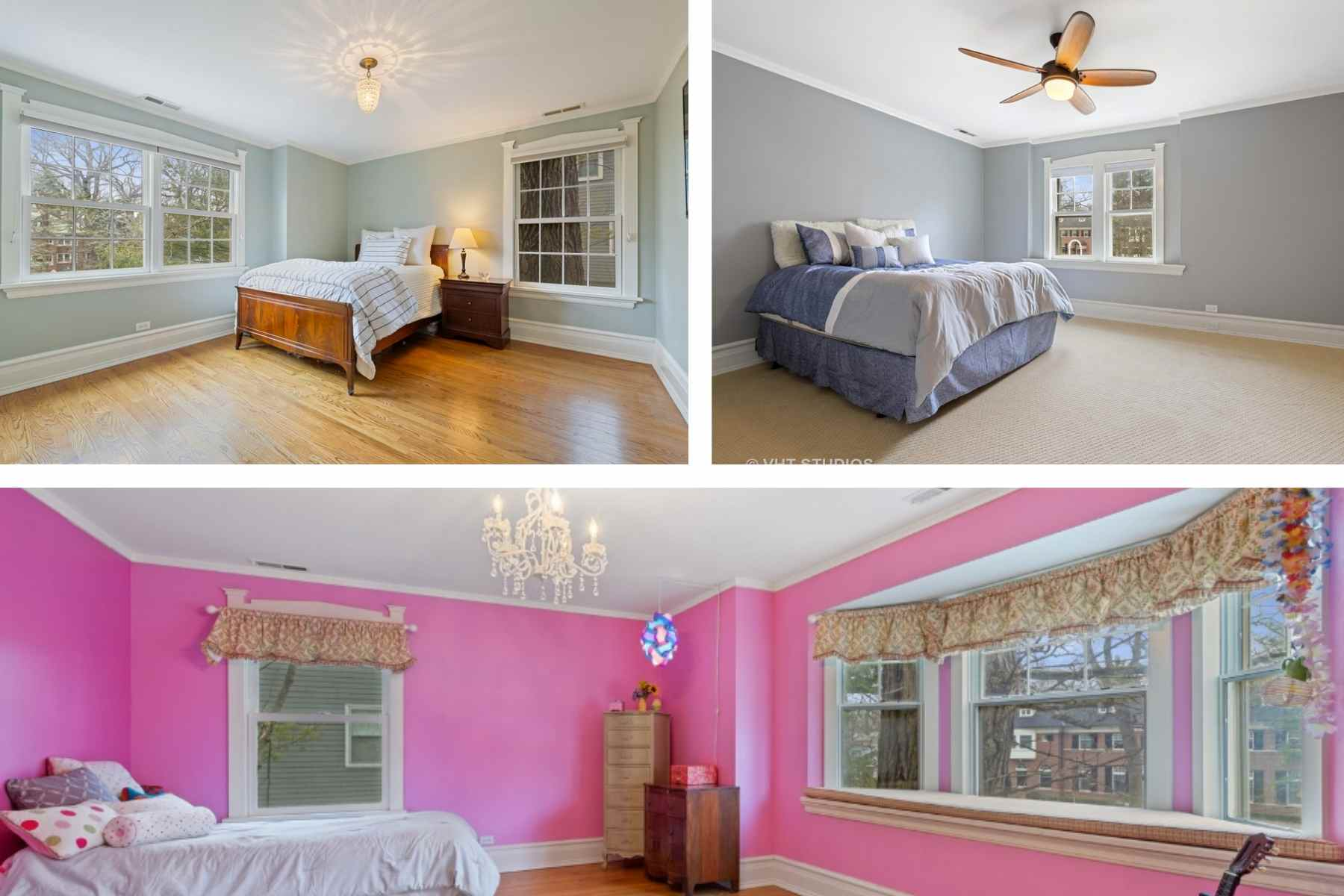 3 Additional Second Floor bedrooms 720 Lake Ave Wilmette