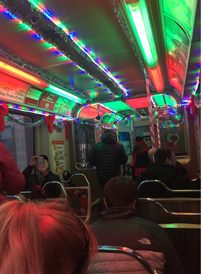 Chicago CTA Christmas Holiday Express - Wilmette, Evanston, Chicago Skokie