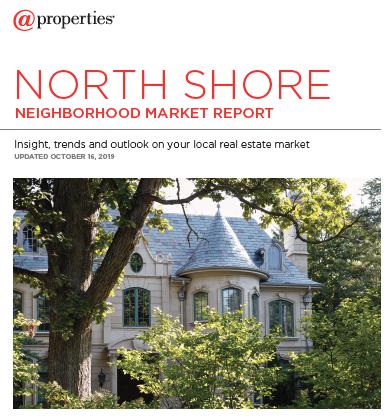 Fall 2019 Chicago North Shore Market Update / Market Statistics