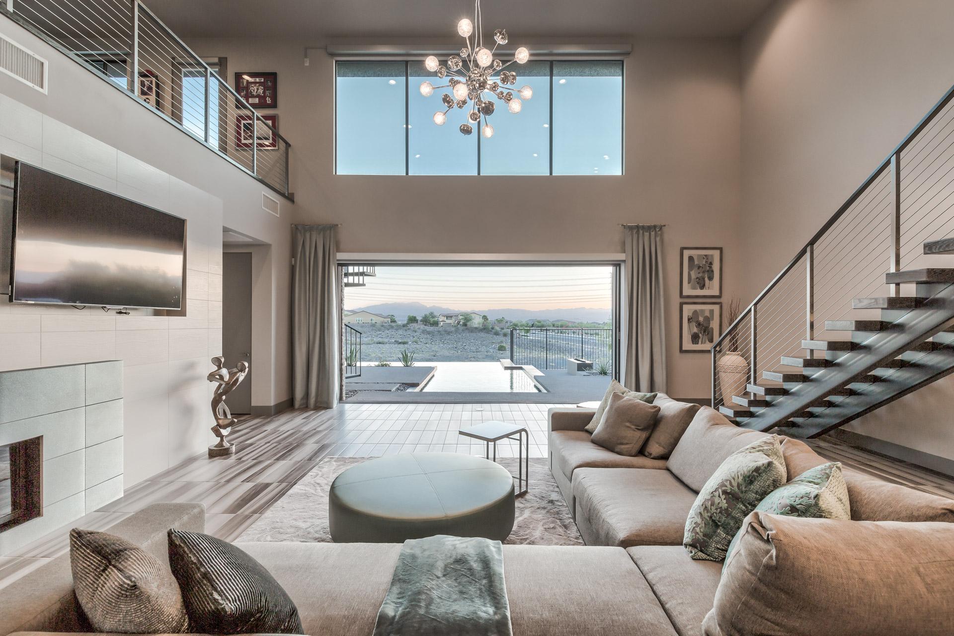 Las Vegas Modern Homes Gated Guard Gated Henderson Vegas Luxury Homes For Sale