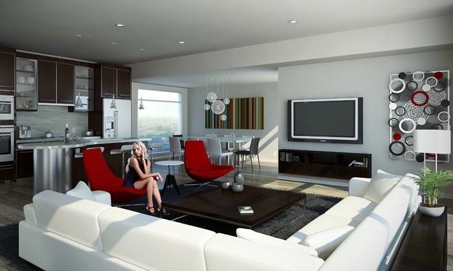 The Modern Model Interior