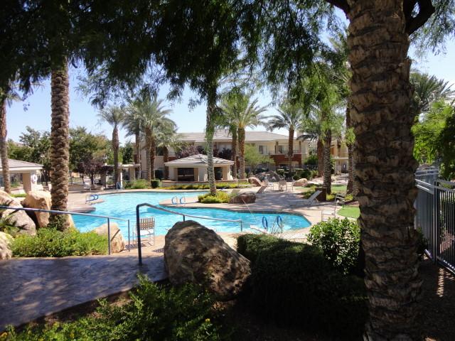 Summerlin Condo Pool Area