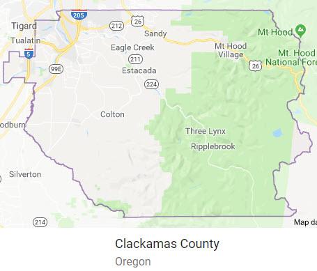 Clackamas County, Oregon Schools Homes for Sale by Boundaries