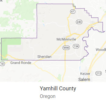 Yamhill County, Oregon Schools Homes for Sale by Boundaries