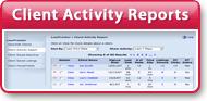 New Client Reports: View Client Activity