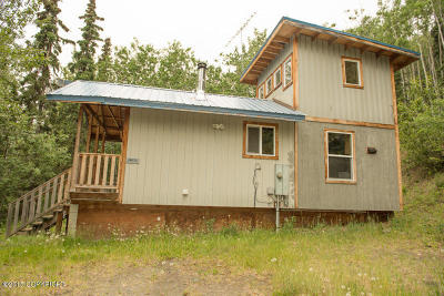 Chugiak Single Family Home For Sale: 38035 Rosehip Ridge Road