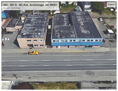 Anchorage Commercial For Sale: 525 E 4th Avenue