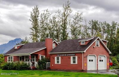 Wasilla Single Family Home For Sale: 7010 E Fireweed Road