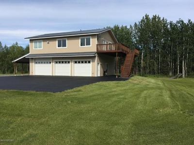 Wasilla Single Family Home For Sale: 1234 W Clydesdale Drive