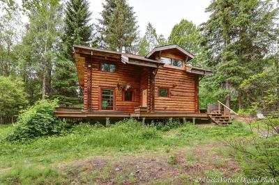 Girdwood, Indian Single Family Home For Sale: 1072 Powerline Road