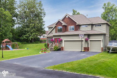 Anchorage Single Family Home For Sale: 8520 Walker Circle