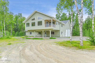 Wasilla Single Family Home For Sale: 650 N Blue Sky Circle
