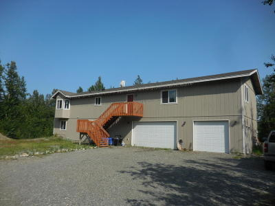 Wasilla Single Family Home For Sale: 2851 N Lagoon Drive
