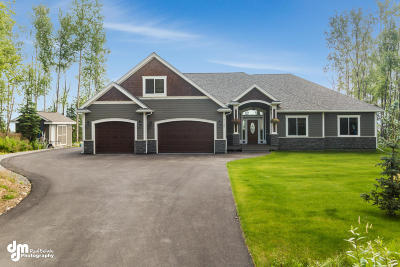 Wasilla Single Family Home For Sale: 7140 W Moose Ridge Circle