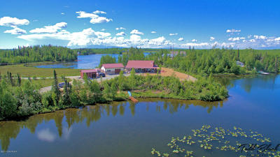 Big Lake Single Family Home For Sale: 985 S Lazy Lake Drive
